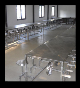 Dining Tables With Folding Chairs Stainless Steel