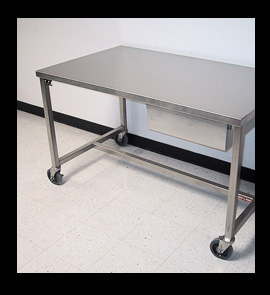 Stainless Steel Work Tables Food Prep Tables Stainless Steel - Stainless steel work table with wheels