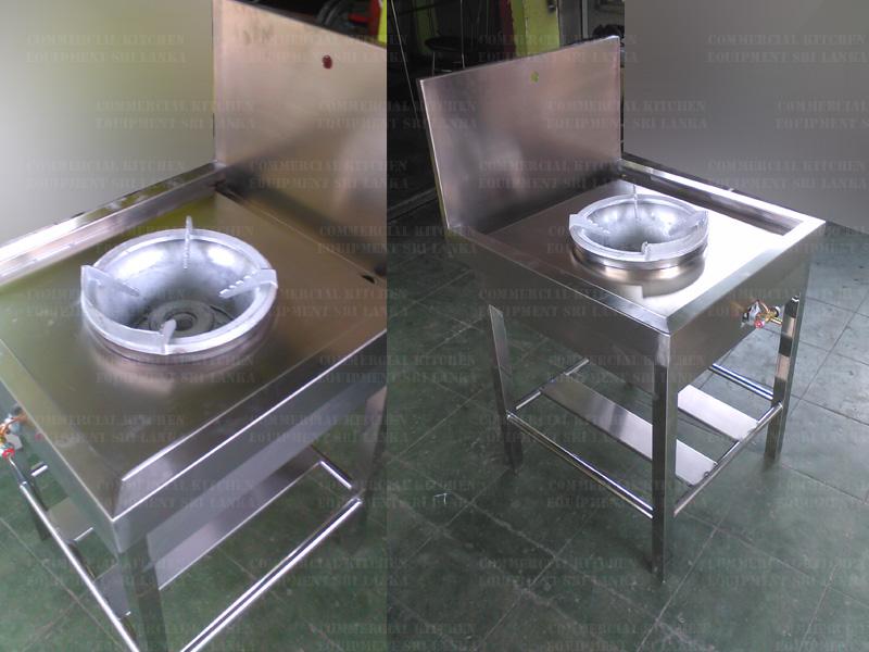 Stainless Steel High Pressure Gas Burner Wok Gas Cookers